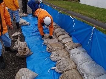 改良積土のう工